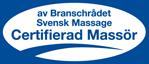 Certifierad massör av branschrådet Svensk Massage